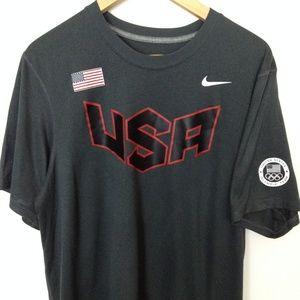 Nike Dri-Fit Medium Multi-Color Men T-Shirt